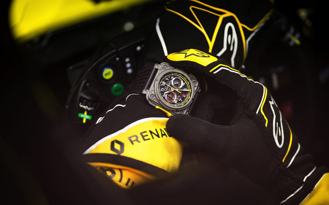 Celebra Bell & Ross tres años con Renault Sport Formula One Team