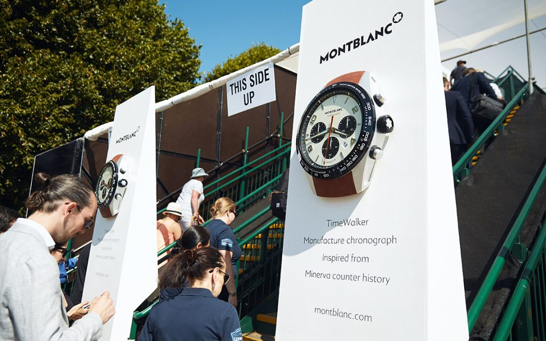 Montblanc, cronometrador oficial del Goodwood Festival of Speed