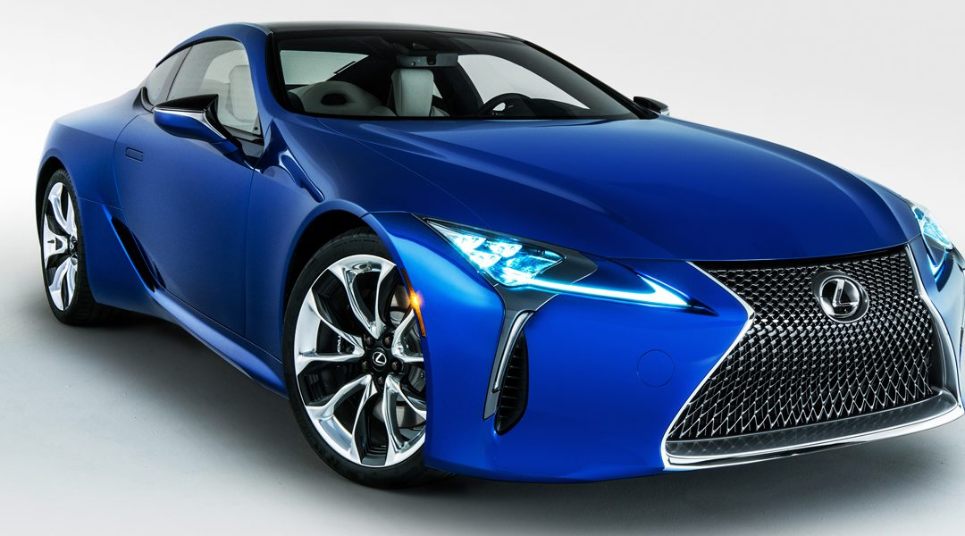 Debutará Lexus LC 500 Inspiration Series en Chicago