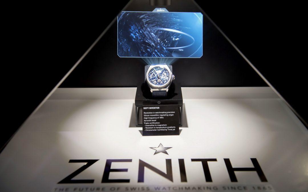 Zenith presenta su innovación  relojera en Viva Technology