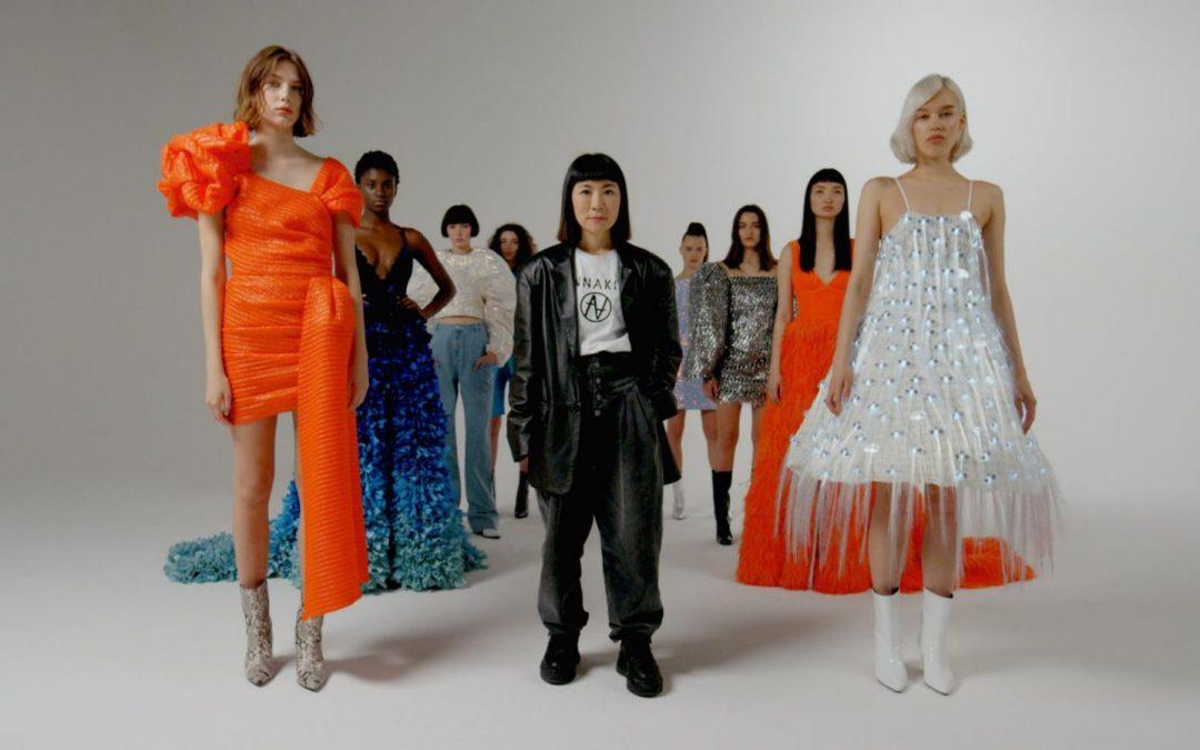 Huawei presenta Fashion Flair, primer colección de moda desarrollada por un smartphone.